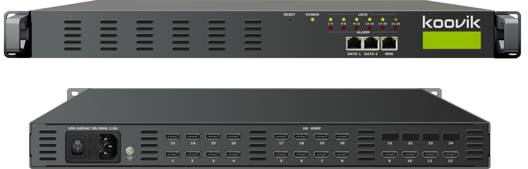 20STREAMPro4-HDMI-M4 - MPEG4 HD ENCODER AND MUXER TO IPTV GATEWAY HEADEND - koovik