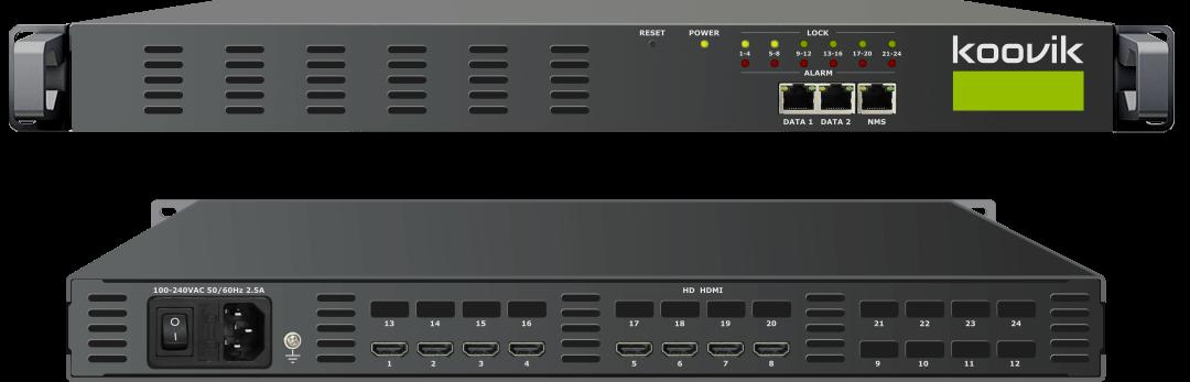 8STREAMPro4-HDMI-M4 - MPEG4 HD ENCODER AND MUXER TO IPTV GATEWAY HEADEND - koovik