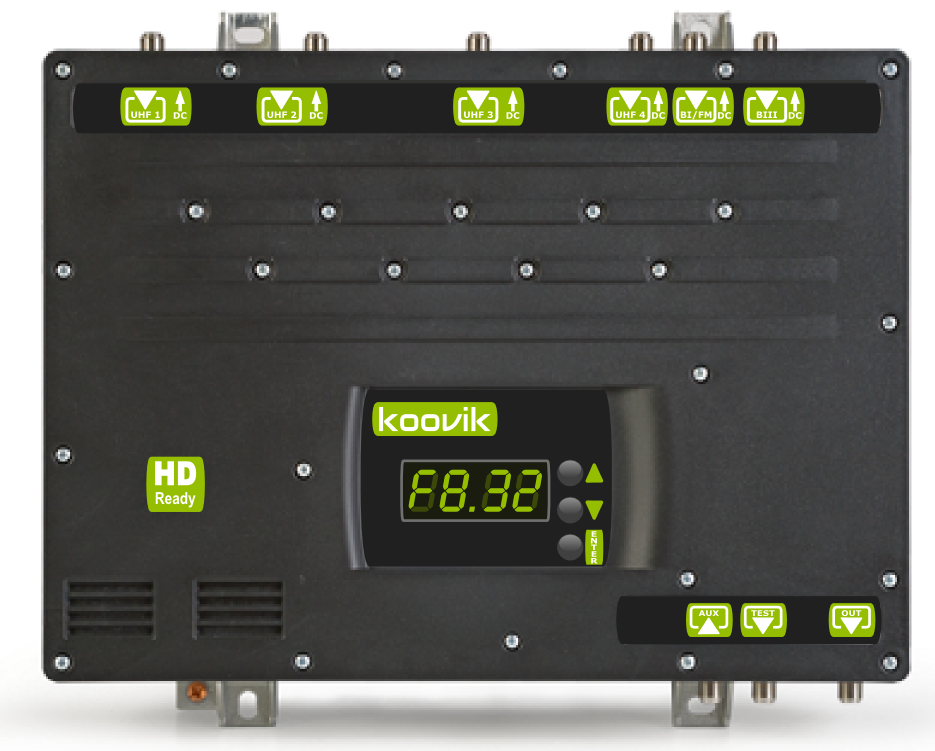 DDBox-50 koovik programmable MATV amplifier