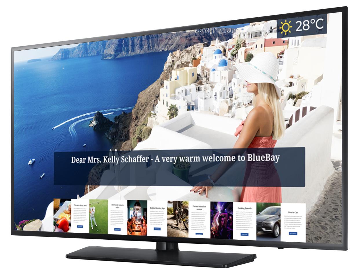 koovik Hotelier TV Samsung Hospitality