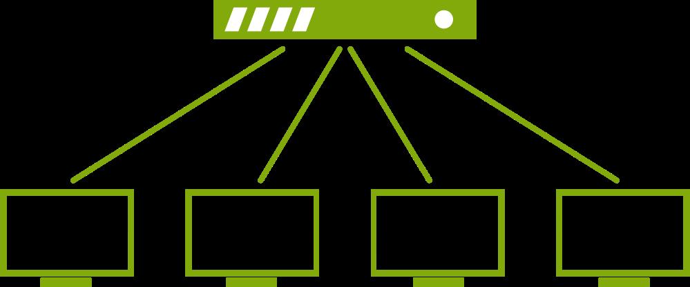 IPTV Broadcast, Multicast and Unicast Data Streaming - koovik