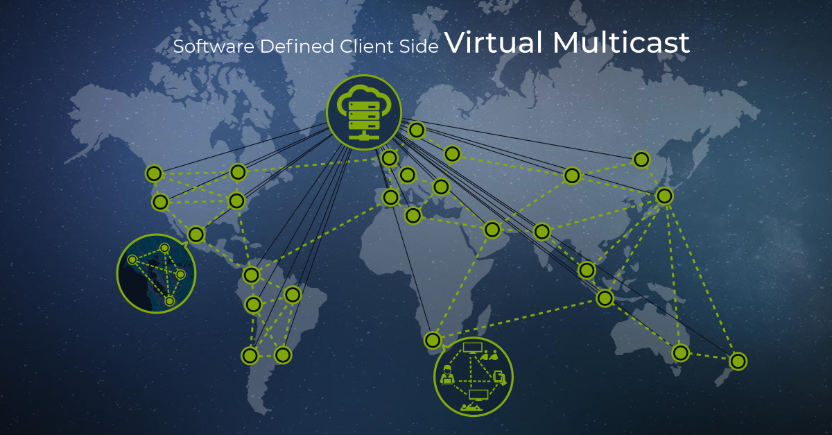 koovik - Software Defined Client Side Multicast