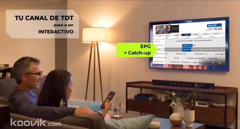 HbbTV EPG catchup koovik